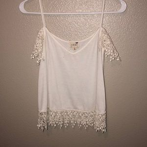Pacsun off the shoulder tank top